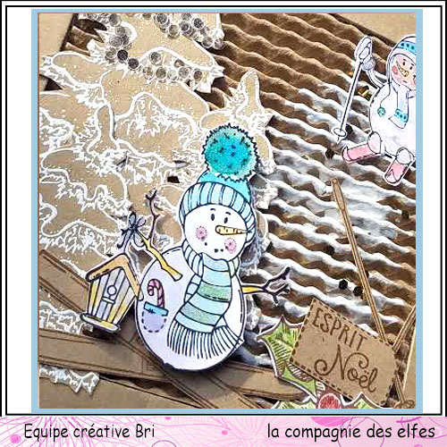 Cartes créatives de Novembre. Snowma11