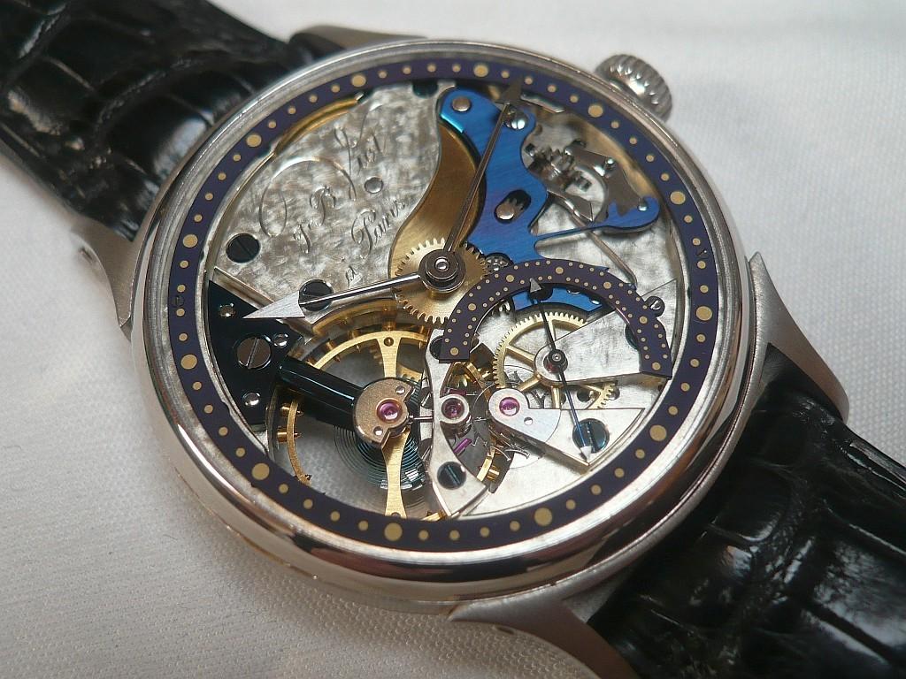 Une montre française: le premier garde-temps de Jean-Baptiste Viot Nov20013