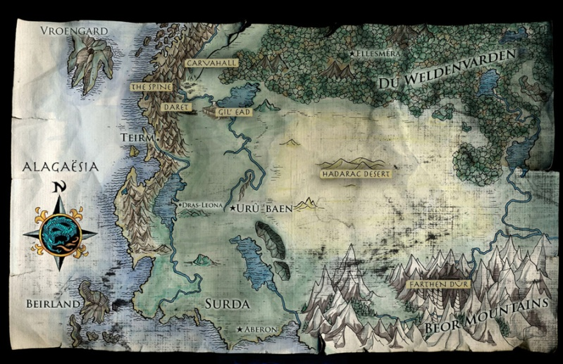 Carte du monde [spoilers] Eragon11