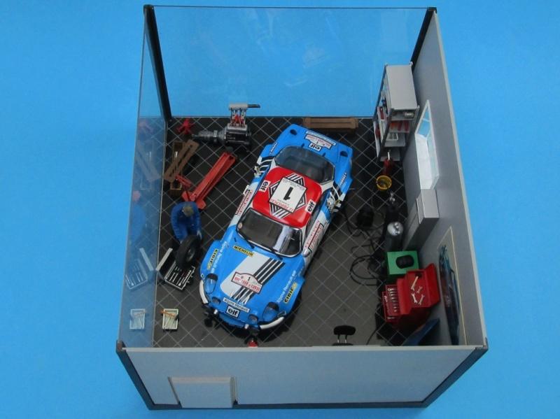 Diorama Garage Alpine Alpine18