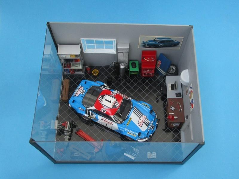 Diorama Garage Alpine Alpine19