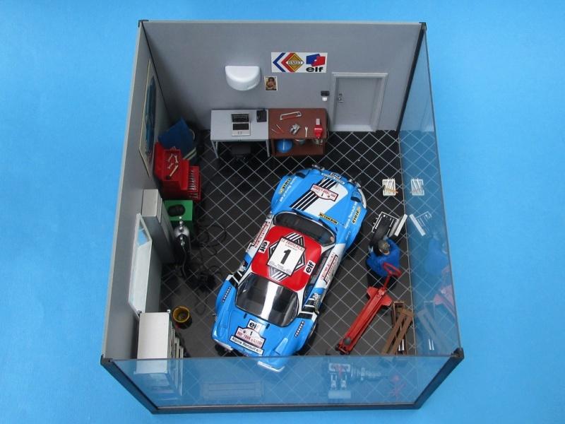 Diorama Garage Alpine Alpine20