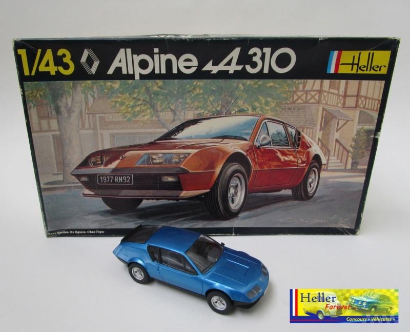 1/43 Alpine A310 ref 146 photos finales Concou11