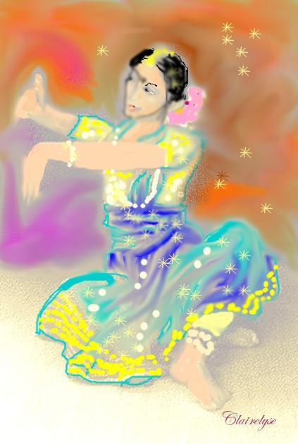 danseuse sacrée. Oiseau10