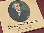 Buch mit Miniatur-Porträts von Haydn Buch-110