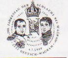 200 Jahrestag der Schlacht bei Wagram Stempe11