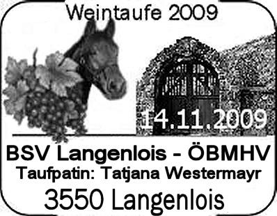 Philatelisten Weintaufe 2009 Stempe17