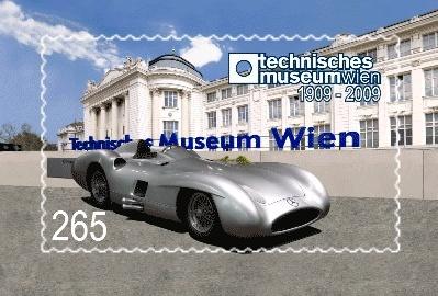 Briefmarkenpräsentation im Technischen Museum Wien Techn10