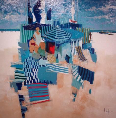 La Plage : Artistes peintres, illustrateurs, photographes... Peintu11