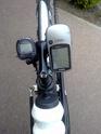 Comment installer un camescope sur un vélo couché équipé d'un guidon bas Tablea11