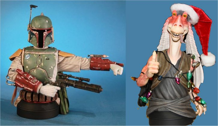 Gentle Giant - SDCC 2013 - Exclu Boba Fett Deluxe Mini Bust Image210