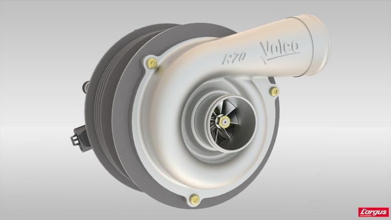 [ Actualité : Nouveauté Technique ] Valeo travaille sur la suralimentation électrique Compre10