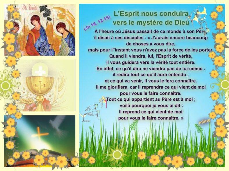 """Dimanche 26 Mai """" Sainte Trinité Solennité du Seigneur """" Pizap_16"""
