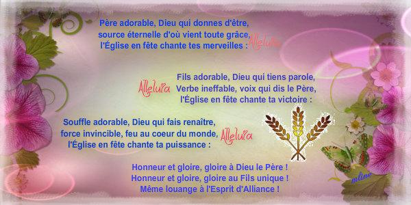 """Dimanche 26 Mai """" Sainte Trinité Solennité du Seigneur """" Pizap_17"""
