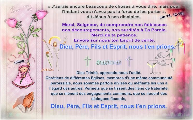 """Dimanche 26 Mai """" Sainte Trinité Solennité du Seigneur """" Pizap_19"""
