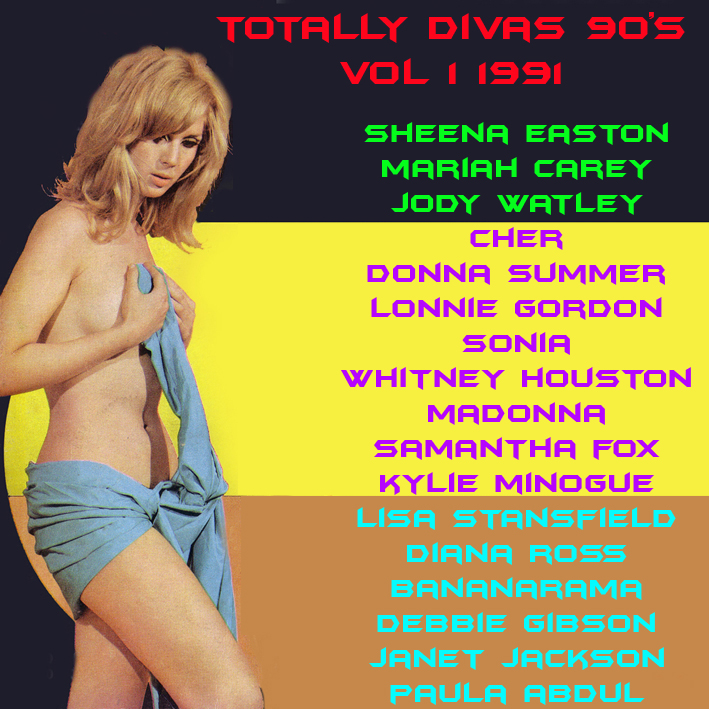 Totally Divas 90's Mix Vol 1 1991 Totall11