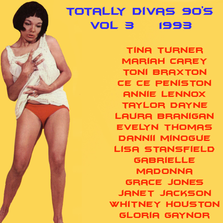Totally Divas 90's Mix Vol 3 1993 Totall13