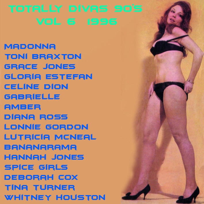 Totally Divas 90's Vol 6 1996  Totall17