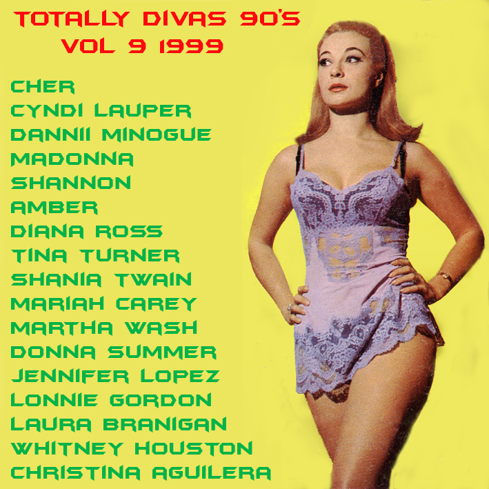 Totally Divas 90's Vol 9 1999 Totall20