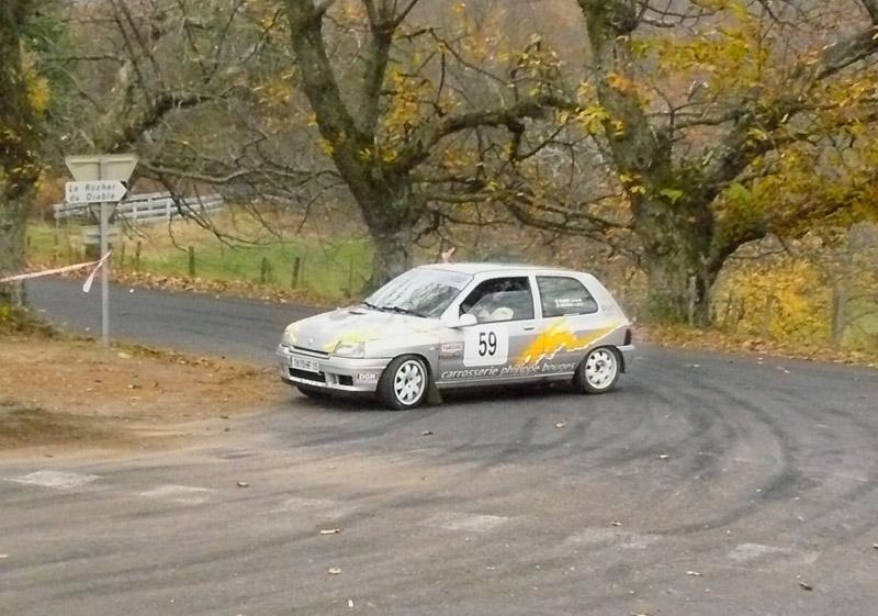 Rallye du Cantal 14 novembre 2009 P1050212