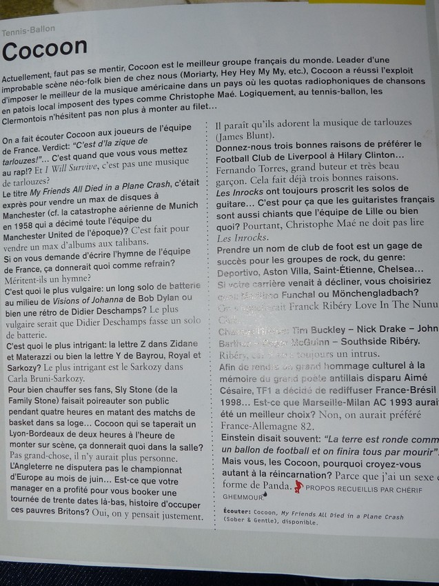 Cocoon - Presse - Page 6 17210