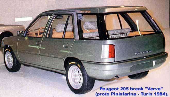 [Présentation] Le design par Peugeot - Page 5 205_bk11