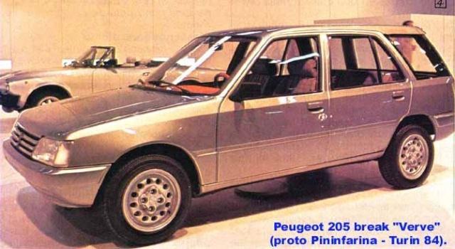 [Présentation] Le design par Peugeot - Page 5 205bkp10