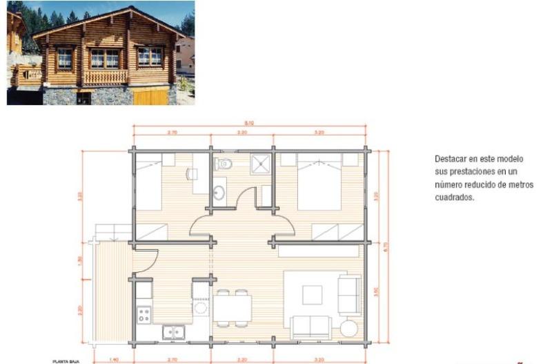 PLANOS EN PDF PLANTA CASAS DE MADERA Casa10