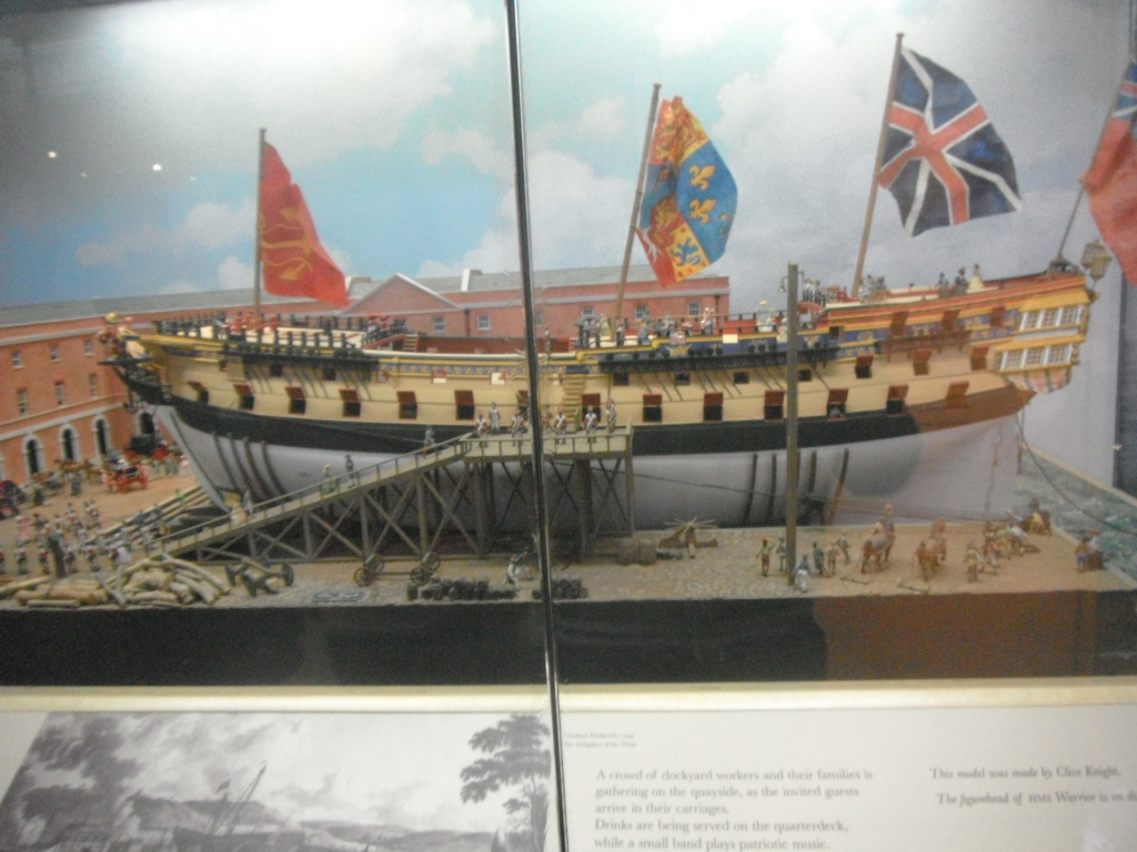 [Marine à voile] Portsmouth, le HSM Victory & le Warrior Photo_17