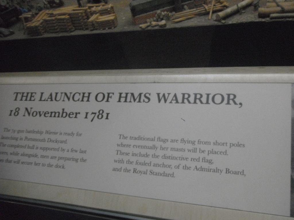 [Marine à voile] Portsmouth, le HSM Victory & le Warrior Photo_18