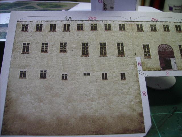 Burg Meersburg am Bodensee, Maßstab 1:300. Schreibermodell. Meersb21
