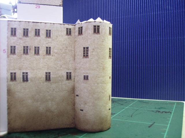 Burg Meersburg am Bodensee, Maßstab 1:300. Schreibermodell. Meersb24