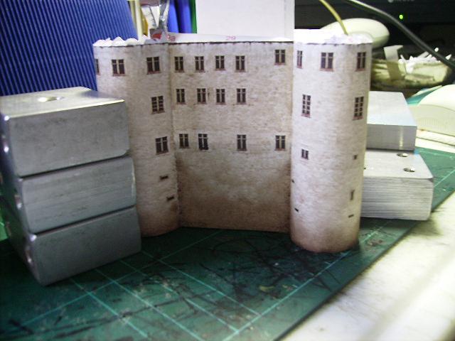 Burg Meersburg am Bodensee, Maßstab 1:300. Schreibermodell. Meersb25