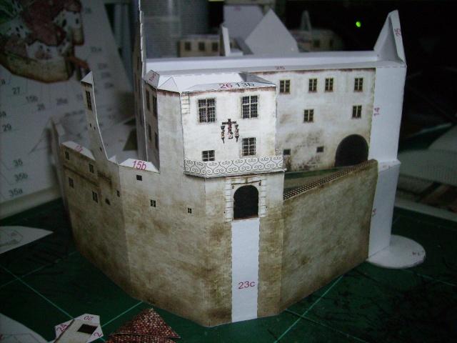 Burg Meersburg am Bodensee, Maßstab 1:300. Schreibermodell. Meersb30