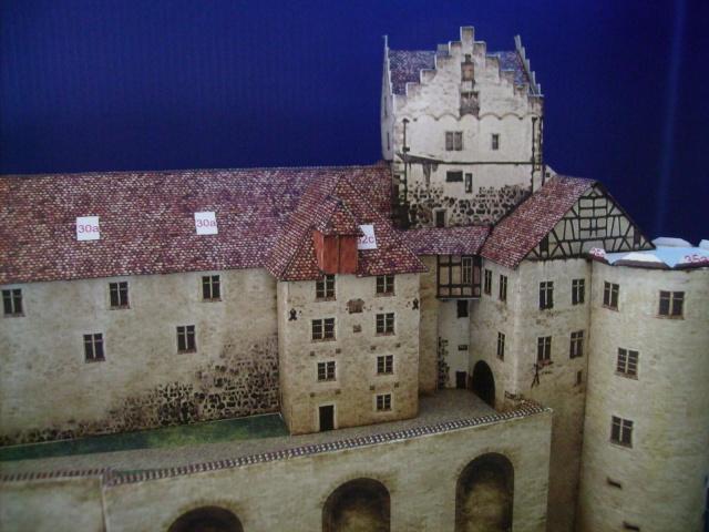 Burg Meersburg am Bodensee, Maßstab 1:300. Schreibermodell. - Seite 2 Meersb37