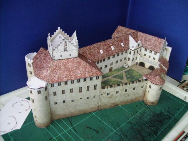 Burg Meersburg am Bodensee, Maßstab 1:300. Schreibermodell. - Seite 2 Meersb39