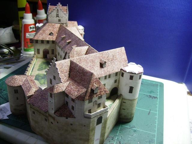 Burg Meersburg am Bodensee, Maßstab 1:300. Schreibermodell. - Seite 2 Meersb40