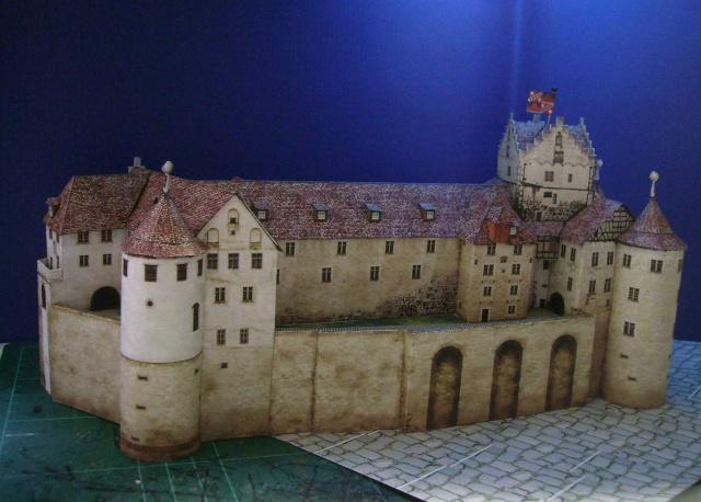 Burg Meersburg am Bodensee, Maßstab 1:300. Schreibermodell. - Seite 2 Meersb43