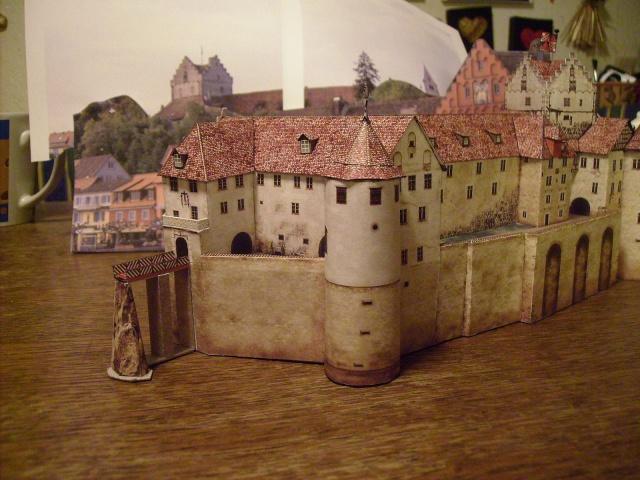 Burg Meersburg am Bodensee, Maßstab 1:300. Schreibermodell. - Seite 2 Meersb47