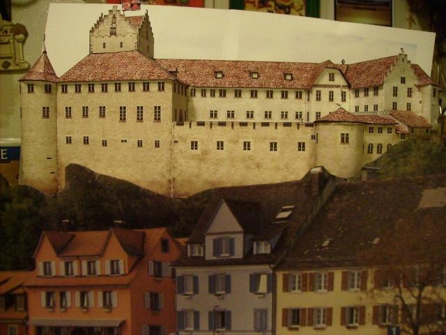 Burg Meersburg am Bodensee, Maßstab 1:300. Schreibermodell. - Seite 2 Meersb49
