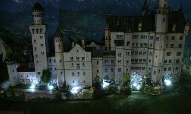 Neuschwanstein - Schreibermodell in 1:250. Galeriebilder. Neusch38