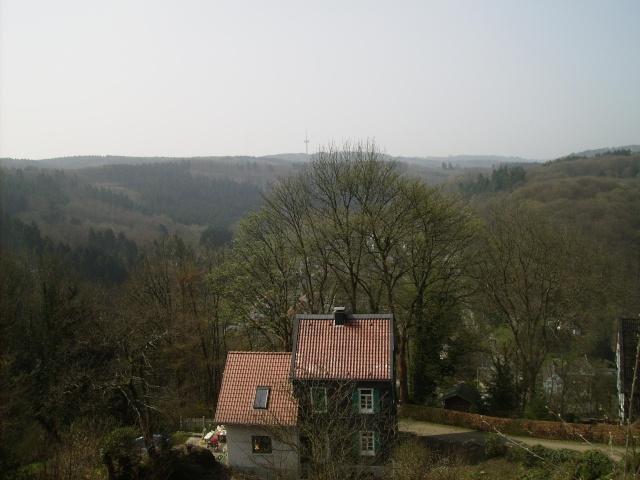 Fruehlingsspaziergang-Schloss Burg an der Wupper. Sb1910