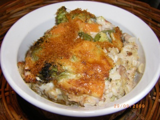 Chaudrée de riz, légumes et ... Imgp1119