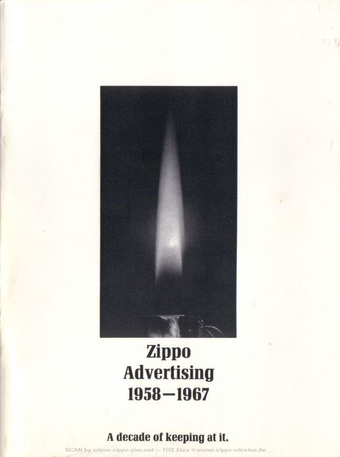 Catalogue Zippo publicitaire de 1958 - 1967 0113