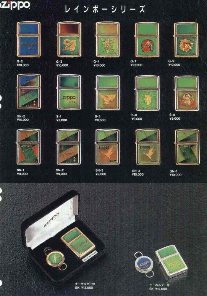 Catalogue ZIPPO 1997 Best selection(Japan version) 2910