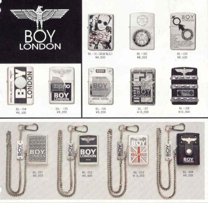Catalogue ZIPPO 1997 Best selection(Japan version) 8910
