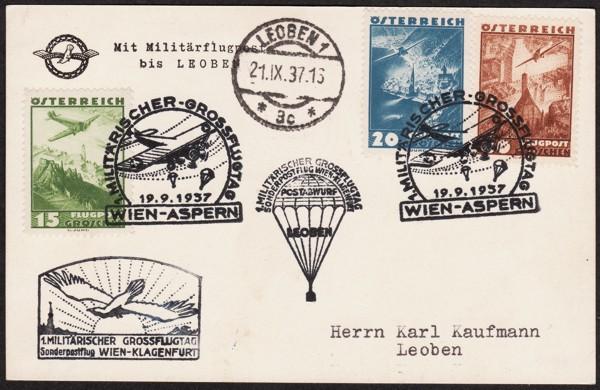 Ältere Flugpost aus Wien 1937_010