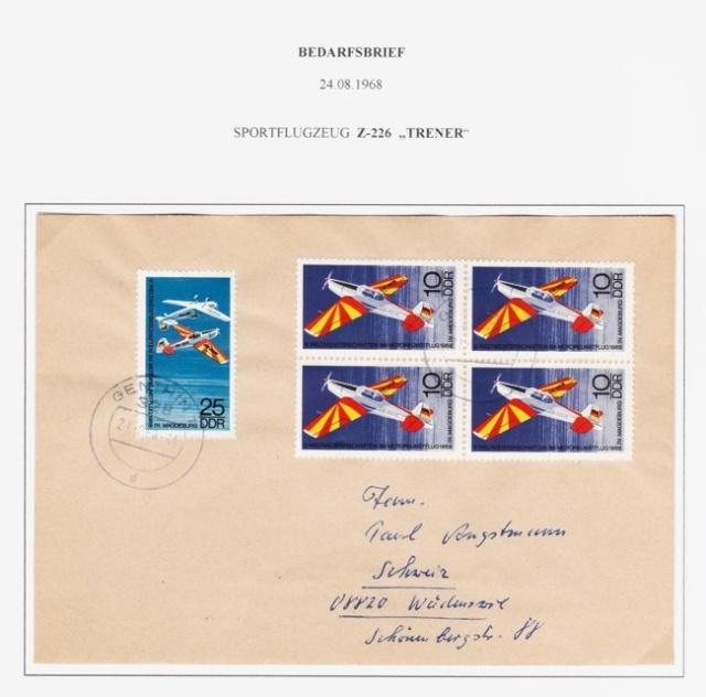 Schöne Briefe und Belege der DDR Ddr10