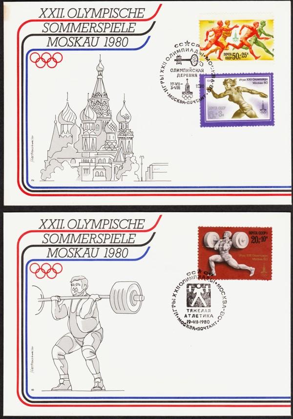 Olympische Sommerspiele 1980 Moskau Neu-210