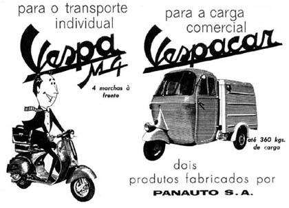 Vespa 1960 - Projecto Brasil10